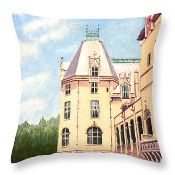 Biltmore Balcony Throw Pillow