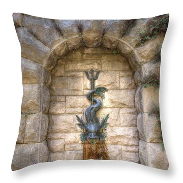 Biltmore Fountain Throw Pillow