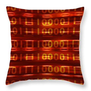 Binary Throw Pillow