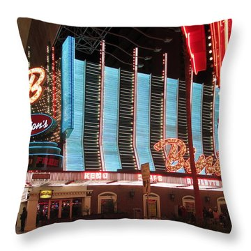 Binions Throw Pillow by Kay Novy
