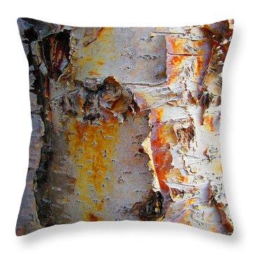 Birch Paper Throw Pillow