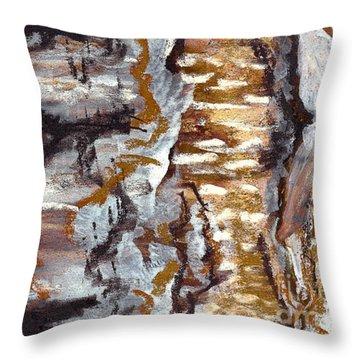 Birch Peel Throw Pillow