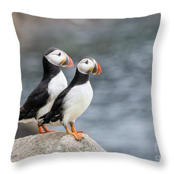 Bird Paradise Throw Pillow