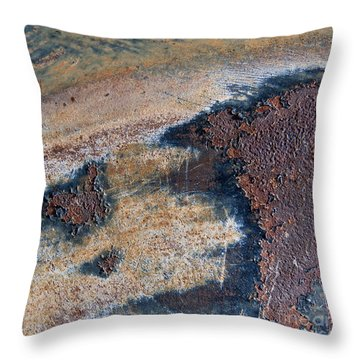 Throw Pillow featuring the photograph Birds Eye View Abstract Square by Lee Craig