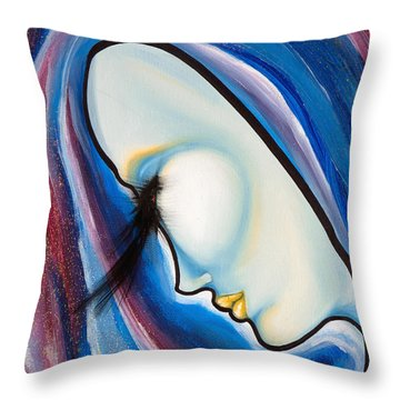 Birds Of A Feather 3 Throw Pillow by Sheridan Furrer