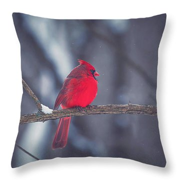 Birds Of A Feather Throw Pillow by Carrie Ann Grippo-Pike