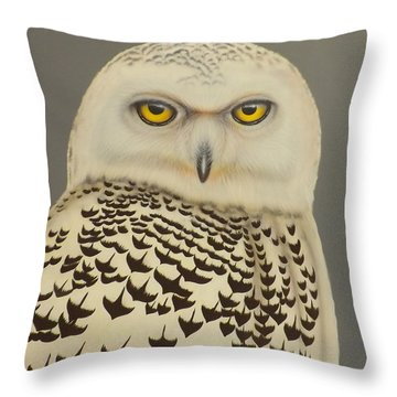 Birds Of A Feather Throw Pillow by Darren Robinson