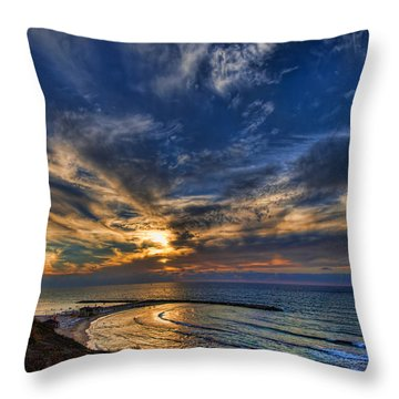Birdy Bird At Hilton Beach Throw Pillow