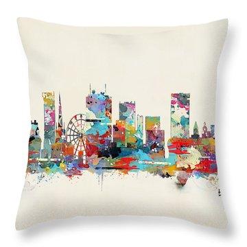 Birmingham Throw Pillows