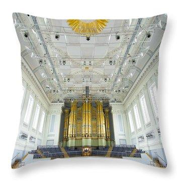 Birmingham Town Hall Throw Pillow