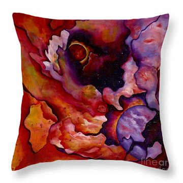 Birth Of A New World Throw Pillow