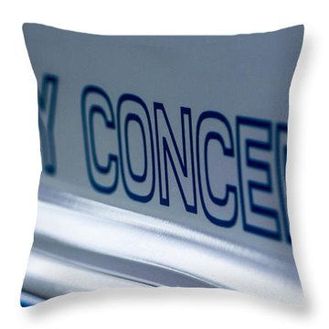 Birthday Car - Shelby Concepts Throw Pillow