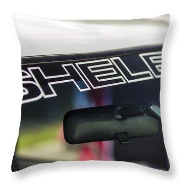 Birthday Car - Shelby Windshield Throw Pillow