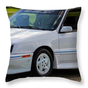 Birthday Car 03 Throw Pillow