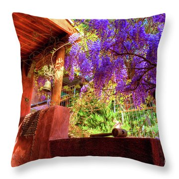 Bisbee Artist Home Throw Pillow