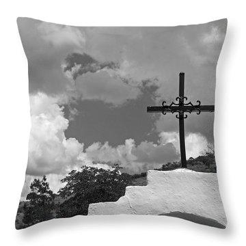 Bisbee Shrine 4 Throw Pillow