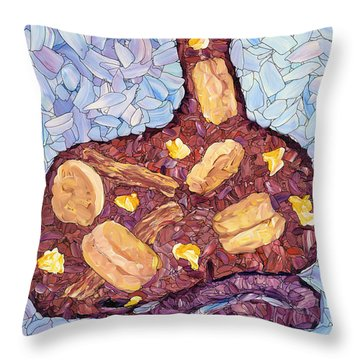 Biscuit Basket Throw Pillow