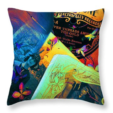 Bits And Pieces... Throw Pillow