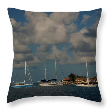 Bitter End Retreat Throw Pillow