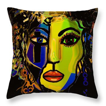 Bittersweet Throw Pillow by Natalie Holland