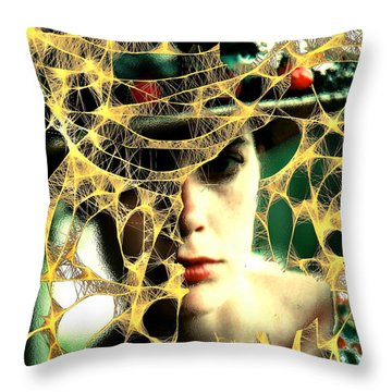 Bittersweet Throw Pillow by Seth Weaver