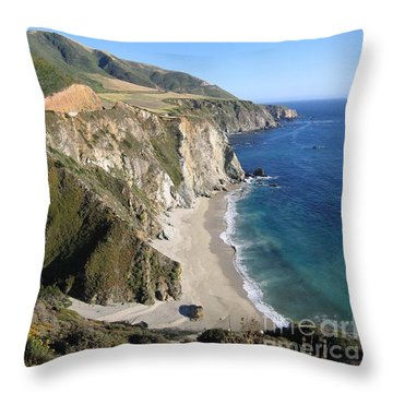 Bixby Bridge Throw Pillow