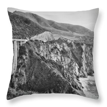 Bixby Overlook Throw Pillow by Heather Applegate
