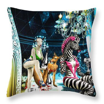 Bizanca Throw Pillow