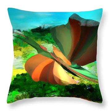Bizzro 1 Throw Pillow