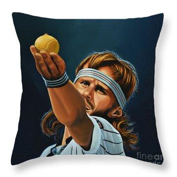 Bjorn Borg Throw Pillow