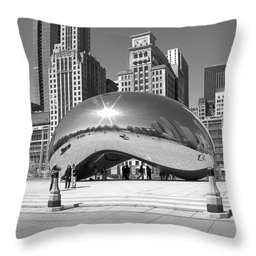 Chicago - The Bean Throw Pillow