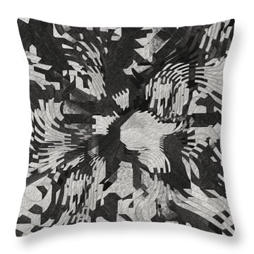 The Valley Below Throw Pillow by Jack Zulli