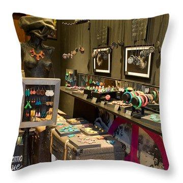 Artisan Jewelry Throw Pillows