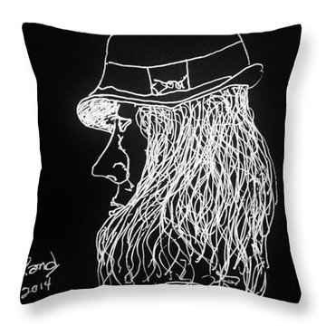 Black Book 06 Throw Pillow