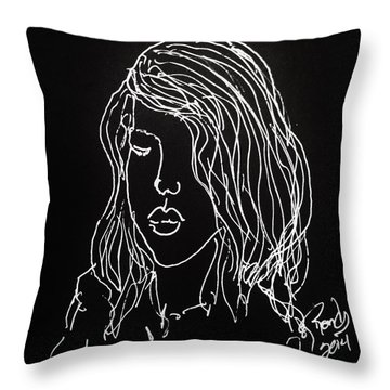 Black Book 07 Throw Pillow