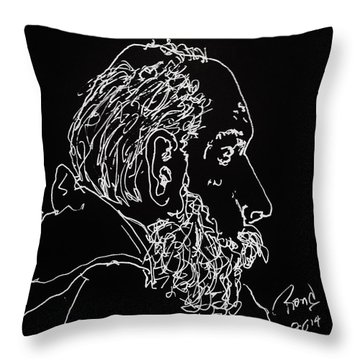Black Book Series 05 Throw Pillow