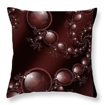 Black Cherry Throw Pillow