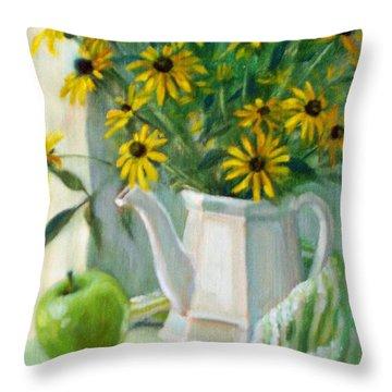 Black-eyed Susans Throw Pillow