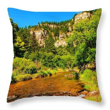Black Hills Beauty Throw Pillow