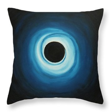 Black Hole Throw Pillow by Sven Fischer
