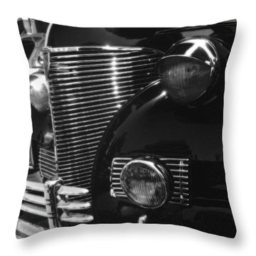 Black Knight Throw Pillow