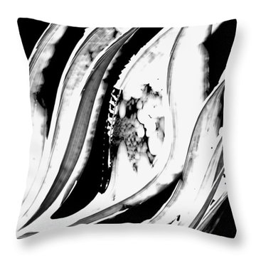 Black Magic 302 Inverted Throw Pillow by Sharon Cummings