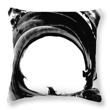 Black Magic 304 By Sharon Cummings Throw Pillow