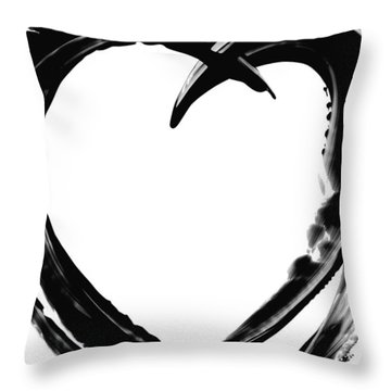 Black Magic 311 By Sharon Cummings Throw Pillow