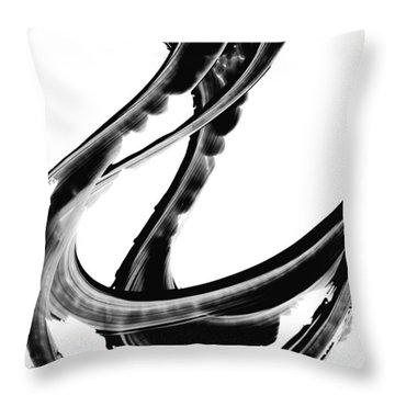 Black Magic 312 By Sharon Cummings Throw Pillow