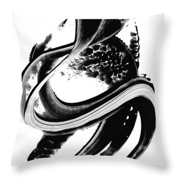 Black Magic 313 By Sharon Cummings Throw Pillow by Sharon Cummings