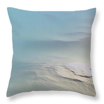 Black Opal Beauty Throw Pillow