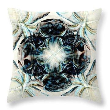 Black Pearls Throw Pillow by Anastasiya Malakhova