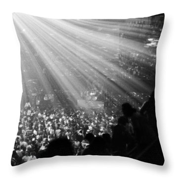 Throw Pillow featuring the photograph Black Sabbath #9 by Ben Upham III