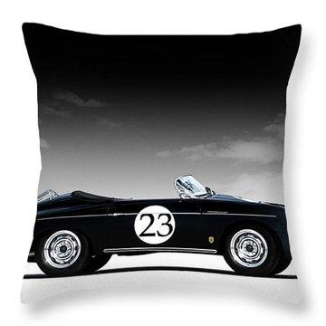 Porsche 356 Throw Pillows